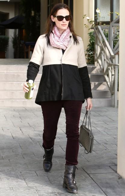Jennifer Garner , Brentwood, 7 février 2013.