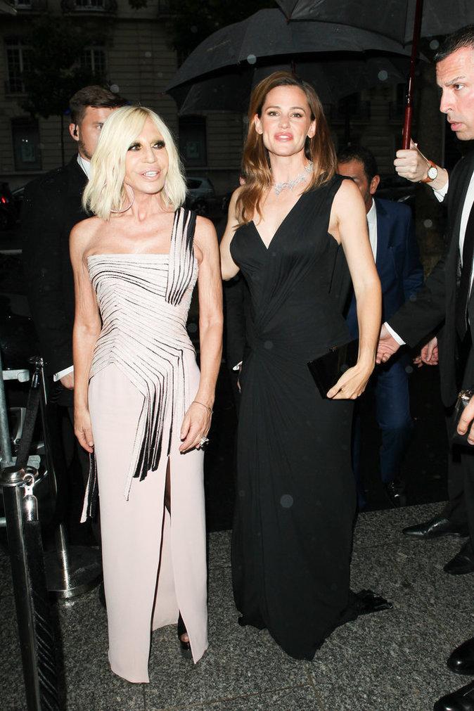 Donatella Versace et Jennifer Garner ont fait sensation