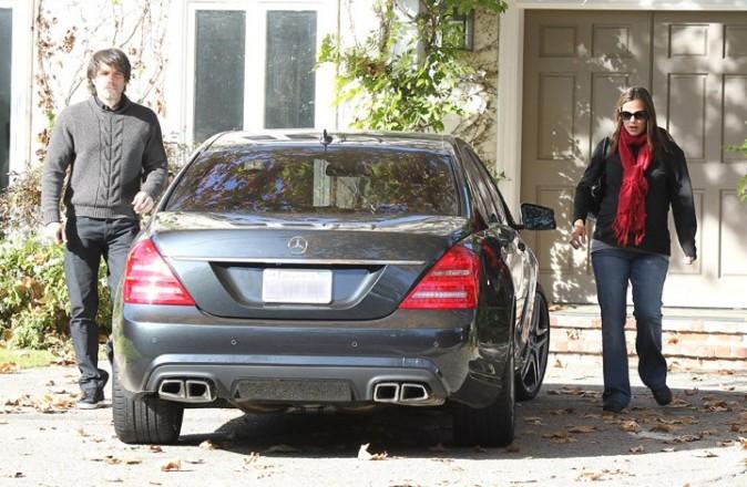 La voiture pour une sortie à 2 pour Ben Affleck et Jennifer Garner !