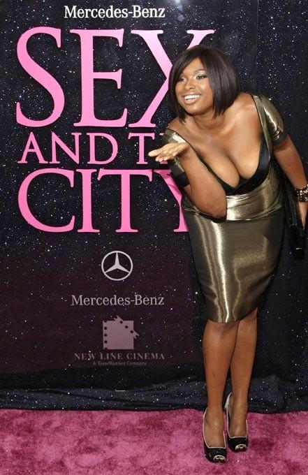 En 2008, ellle tourne dans le film de Sex and The City !