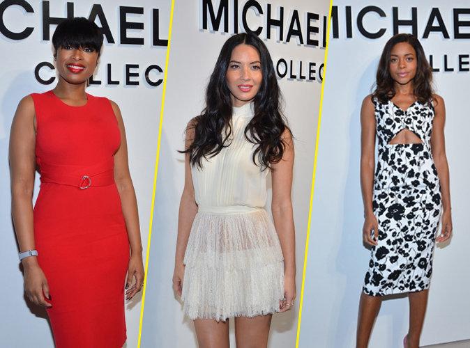 : Jennifer Hudson, Olivia Munn et Naomie Harris : style au rendez-vous pour le défilé Michael Kors