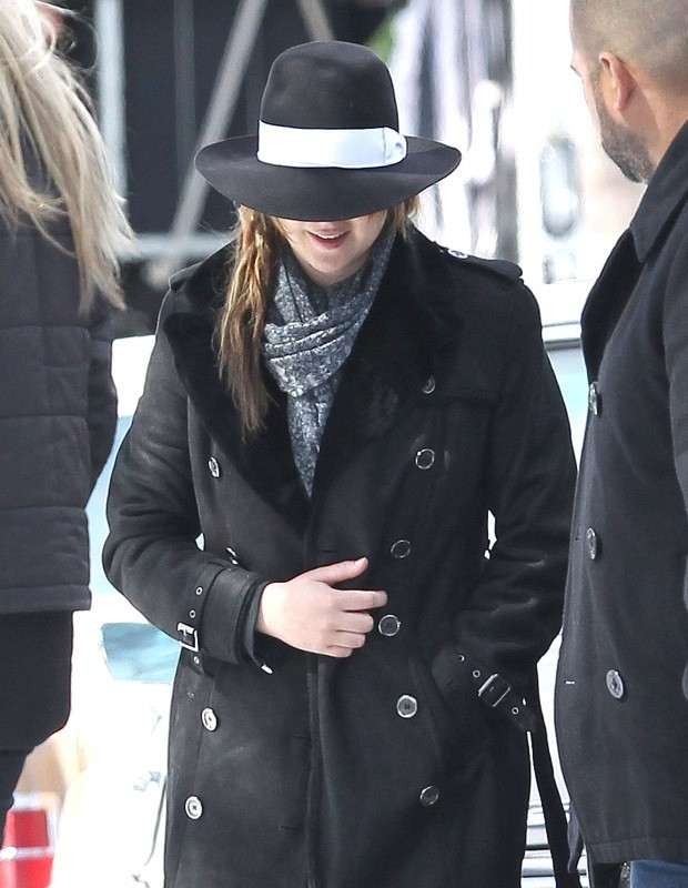 Jennifer Lawrence à Boston le 20 mars 2013.