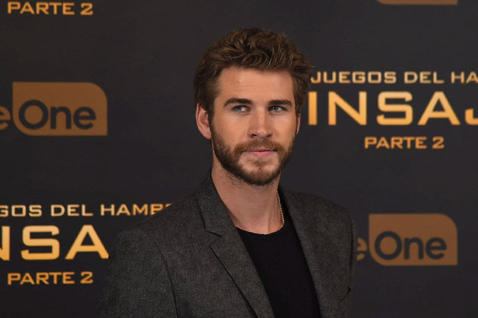 Liam Hemsworth à Madrid le 10 novembre 2015