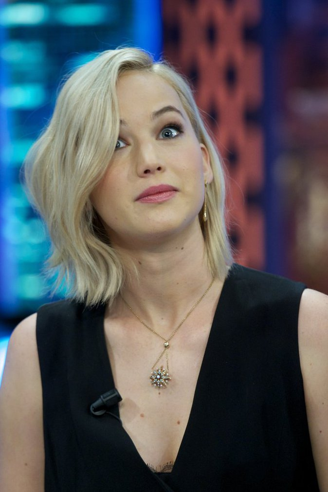 Jennifer Lawrence le 26 novembre 2015