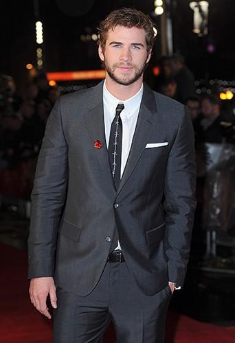 Liam Hemsworth à Londres le 11 novembre 2013