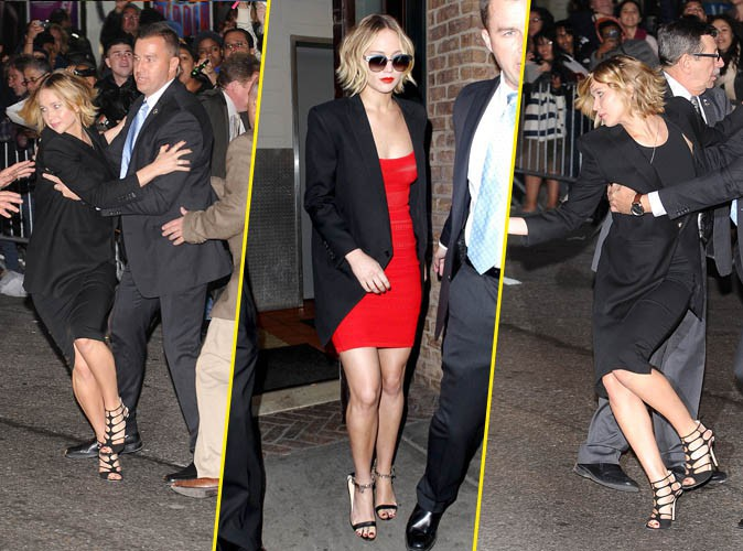 Jennifer Lawrence le 12 novembre 2014