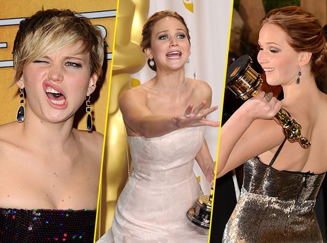 Photos : Jennifer Lawrence : entre grimaces et fous rires, redécouvrez tous ses meilleurs délires sur le red carpet !