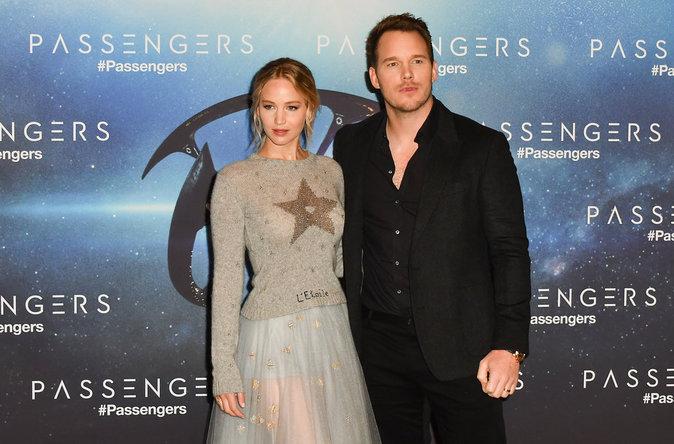 Jennifer Lawrence et Chris Pratt : un duo de choc de passage à Paris !