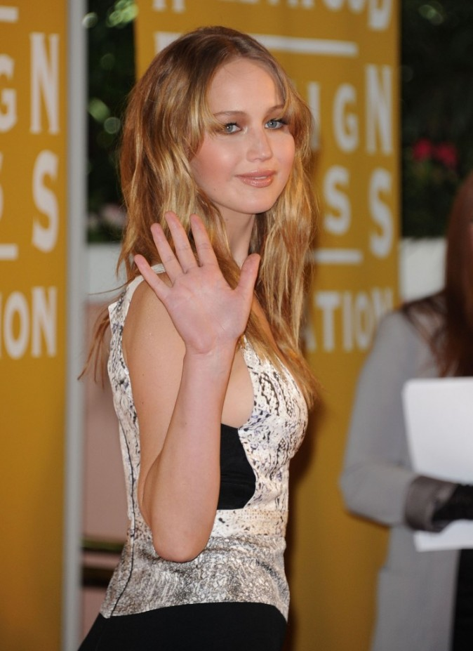 Jennifer Lawrence, Hollywood, 9 août 2012