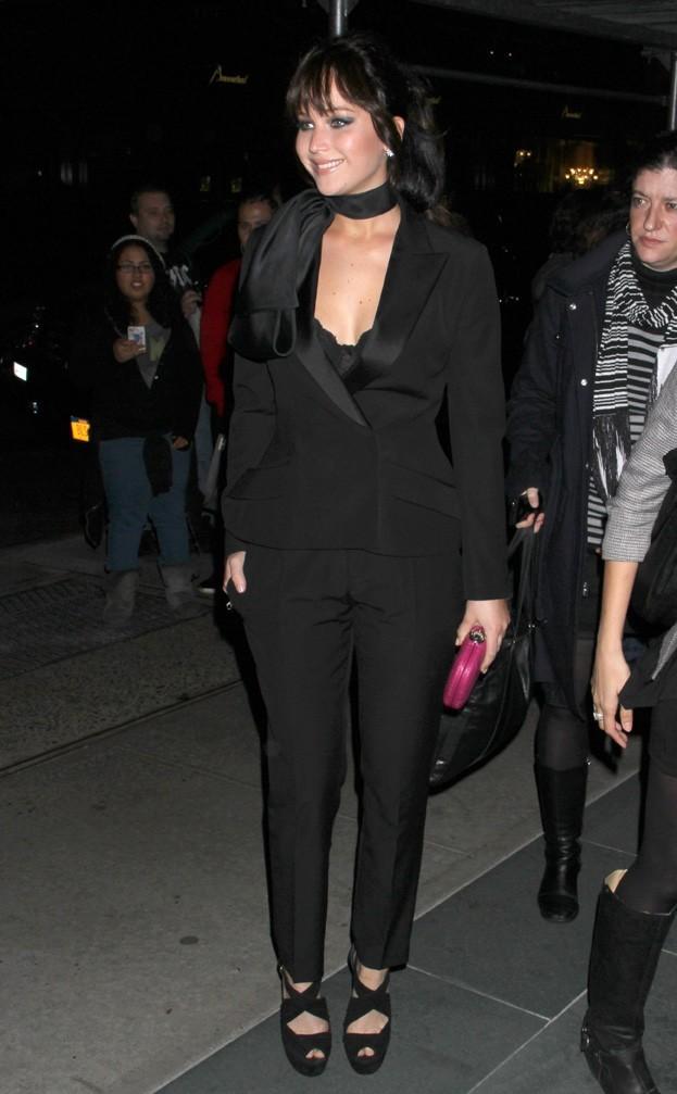 Jennifer Lawrence à New-York le 11 novembre 2012 pour la projection de Silver Linings Playbook