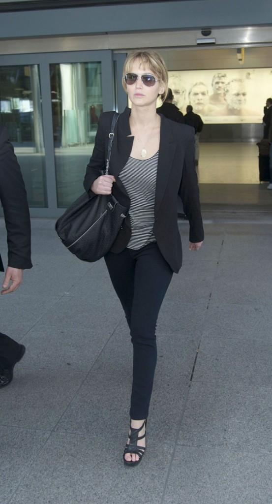Jennifer Lawrence, aujourd'hui à Londres