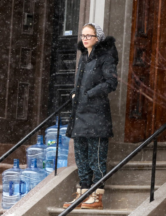 Jennifer Lawrence à Boston le 26 février 2015