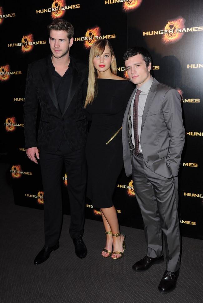 Jennifer entourée de Liam et Josh !