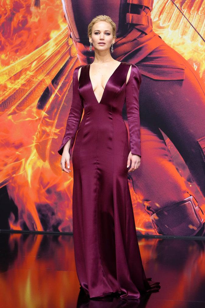Jennifer Lawrence le 4 novembre 2015