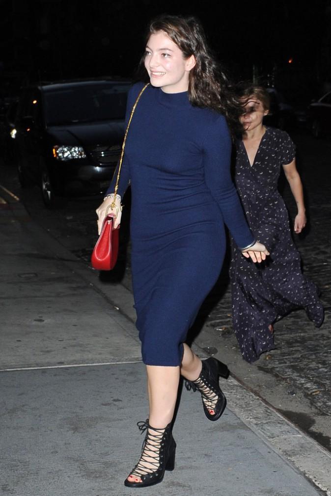 Lorde le 3 mai 2015