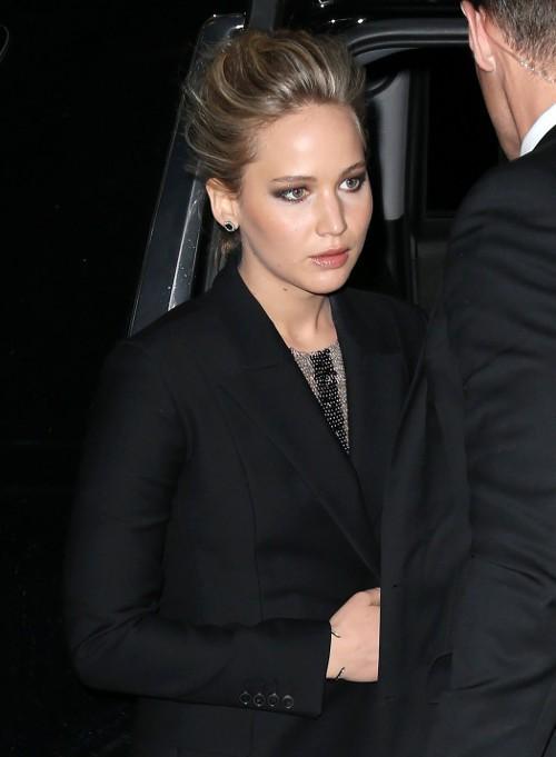 Jennifer Lawrence à New-York le 21 mars 2015