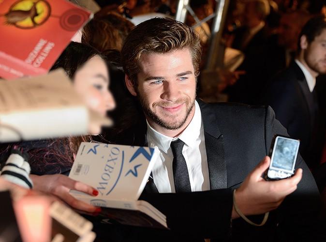 Liam Hemsworth à Paris le 15 novembre 2013