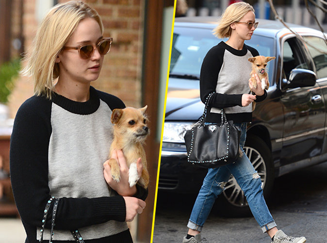 Jennifer Lawrence le 27 novembre 2015