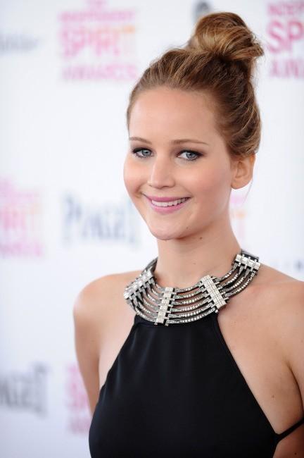 Jennifer Lawrence le 23 février 2013 à Santa Monica