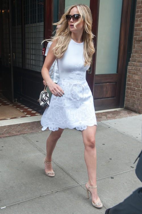 Photos : Jennifer Lawrence, une fille dans le vent !