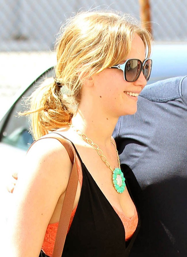 Jennifer Lawrence le 10 août 2012 à Sherman Oaks