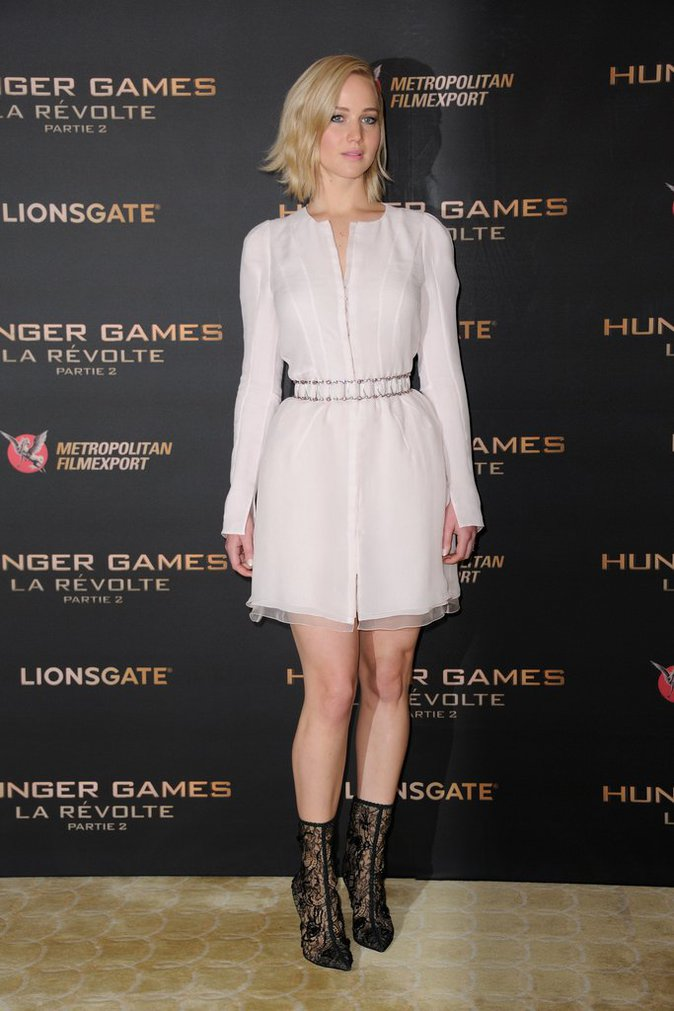 Jennifer Lawrence le 9 novembre 2015