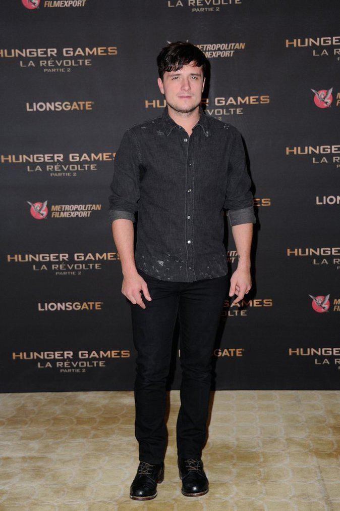 Josh Hutcherson le 9 novembre 2015