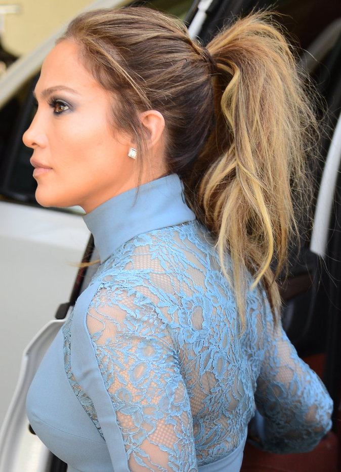 Jennifer Lopez à Studio City le 20 avril 2016