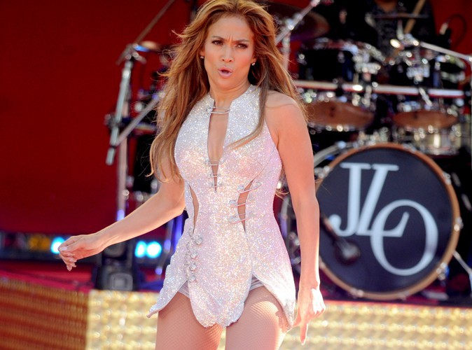 Jennifer Lopez à New York le 20 juin 2014