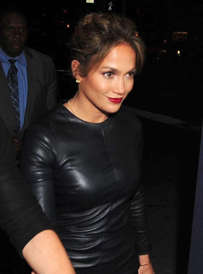 Jennifer Lopez et Casper Smart à New-York le 11 septembre 2012