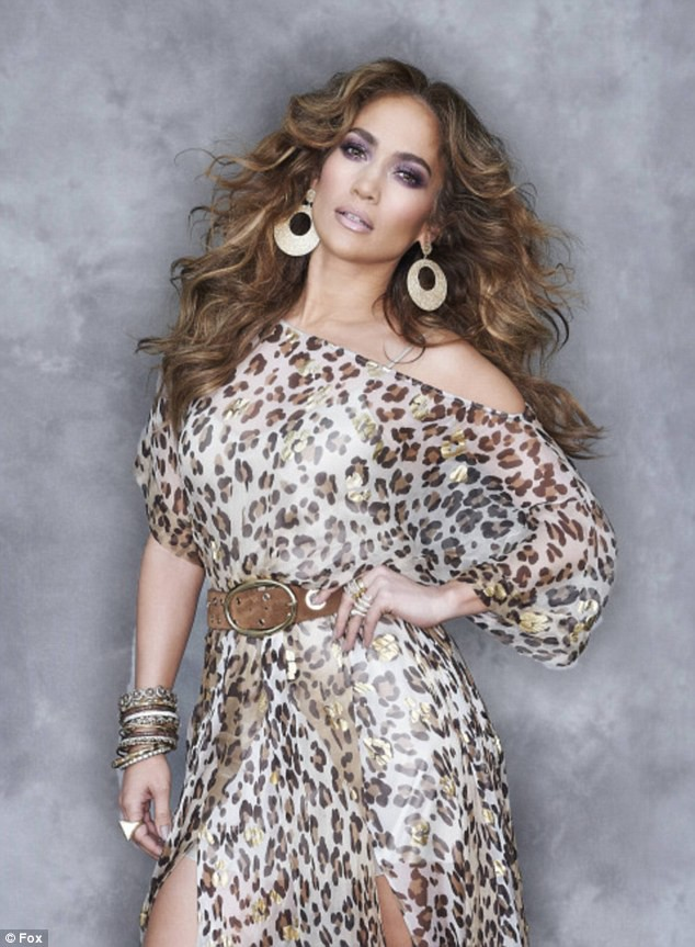 Jennifer Lopez pour American Idol.