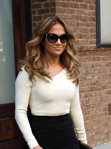 Jennifer Lopez à New York, le 12 septembre 2012.