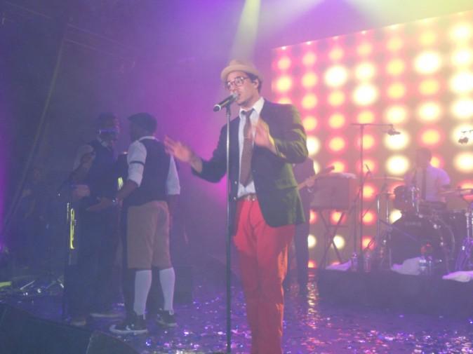 Ben L'Oncle Soul lors du NRJ Music Tour à Paris, le 15 juin 2011.
