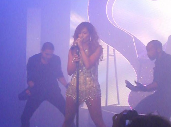 Jennifer Lopez lors du NRJ Music Tour à Paris, le 15 juin 2011.