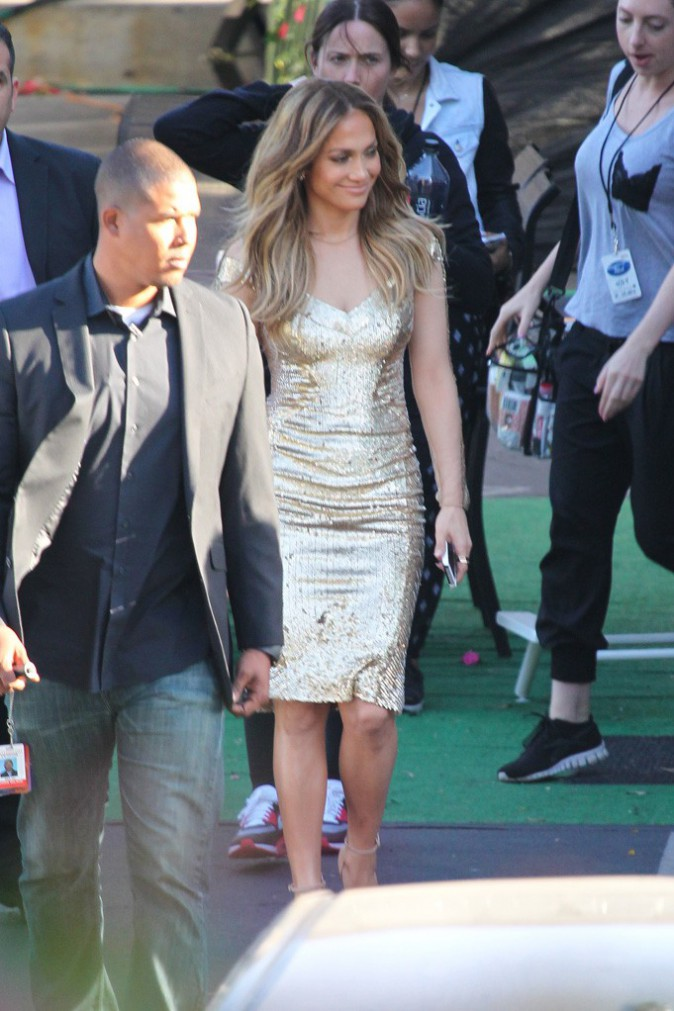 Jennifer Lopez à Los Angeles le 24 avril 2014
