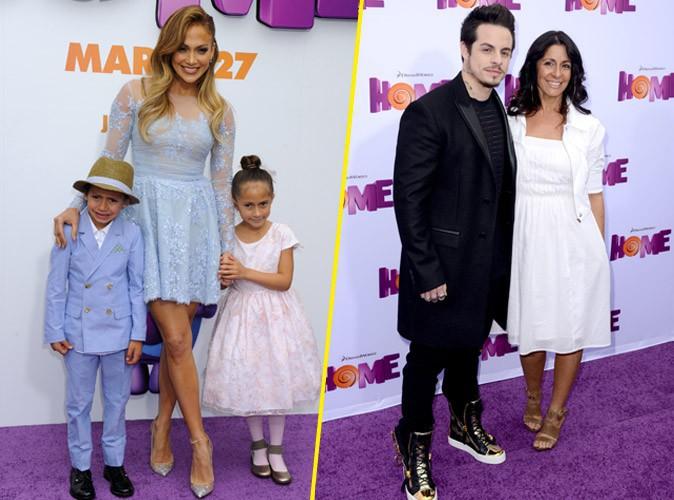 Photos : Jennifer Lopez : en famille pour Home, elle exclut Casper Smart du tableau !