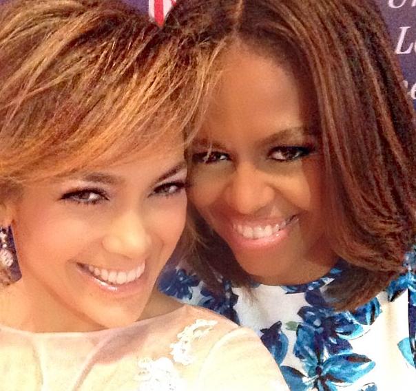 Photos : Jennifer Lopez et Michelle Obama : sublimes et super complices pour évoquer l'émancipation des Latinos !