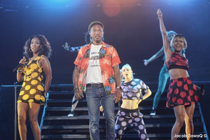 Photos : Jennifer Lopez et Pharrell Williams font le show pour l'ouverture du festival de Mawazine !