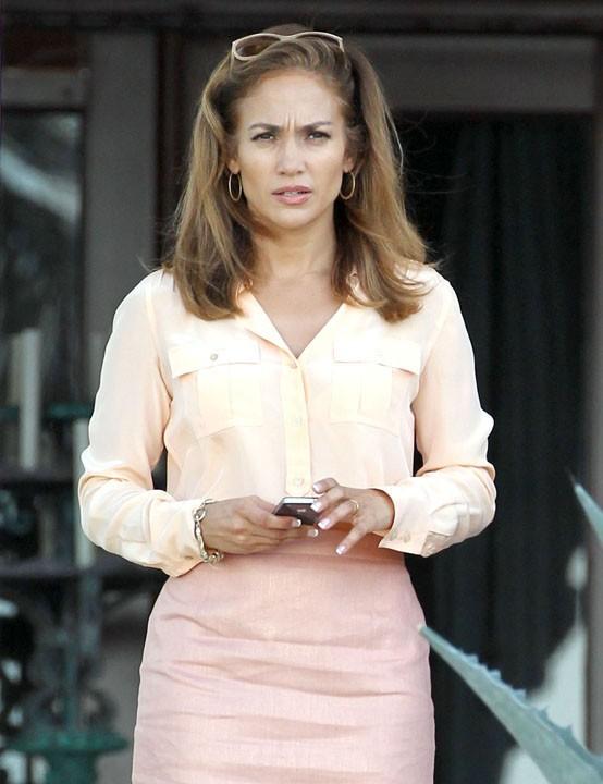 Jennifer Lopez attend un coup de fil ?