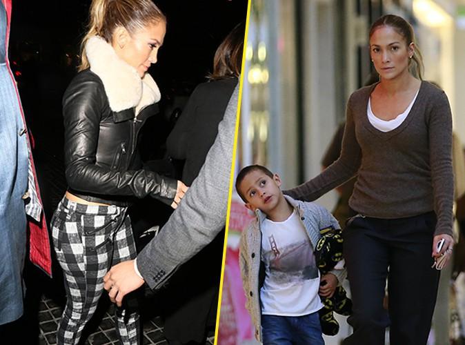 Jennifer Lopez : f�tarde styl�e la nuit, maman d�vou�e le jour !