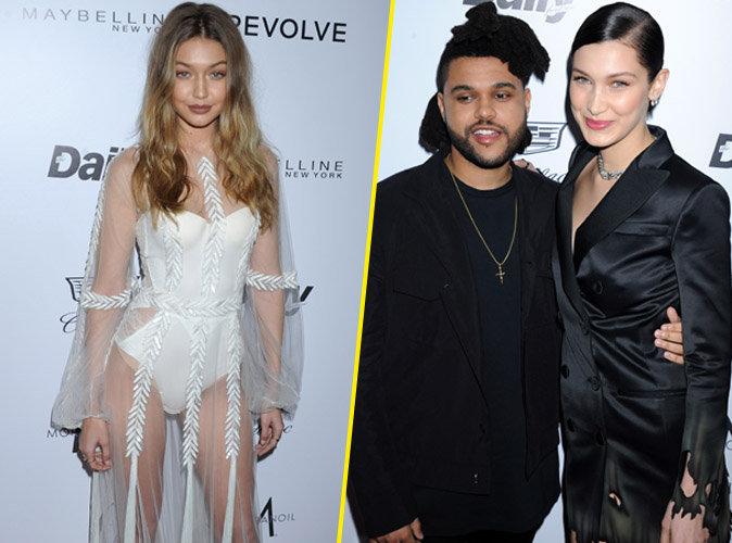 Bella Hadid sacr�e devant Gigi et The Weeknd, son ch�ri !