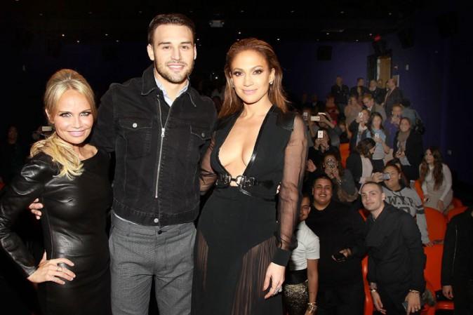 Jennifer Lopez à New-York le 20 janvier 2015