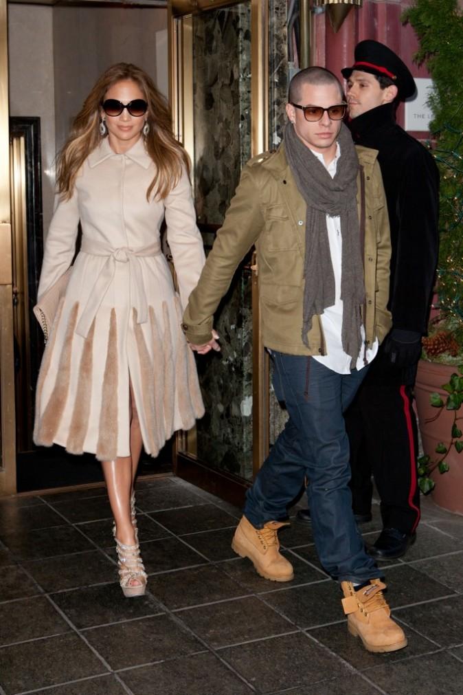 Jennifer Lopez et son nouveau chéri Casper Smart