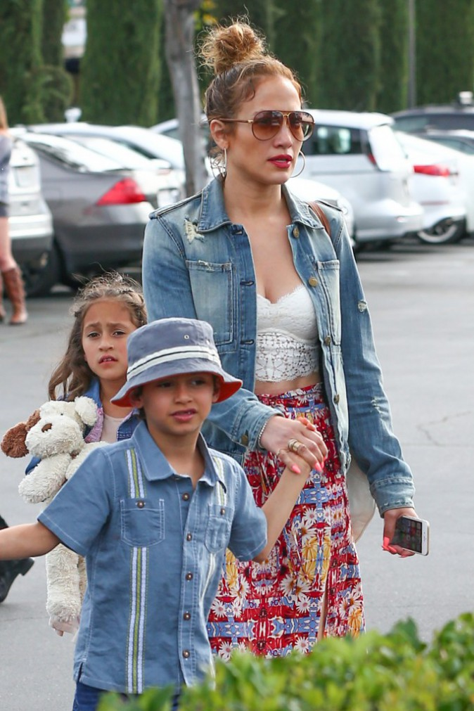 Jennifer Lopez le 16 mars 2015