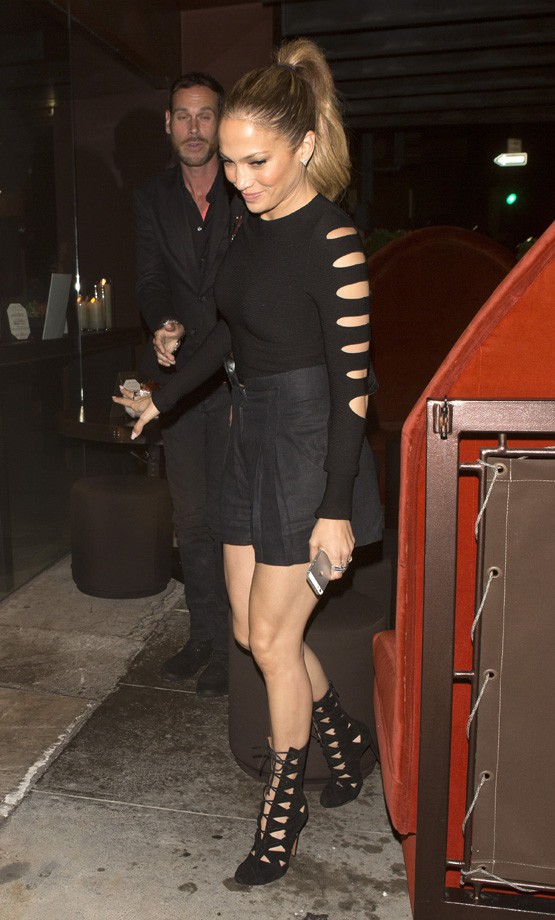 Jennifer Lopez à Beverly Hills le 14 octobre 2014