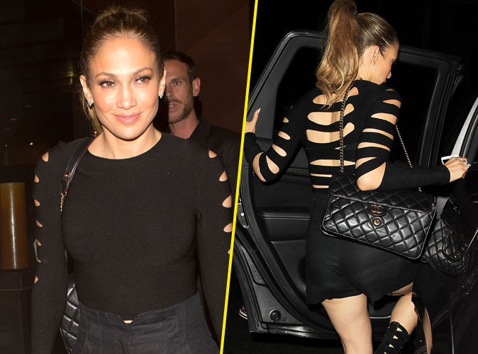Jennifer Lopez : m�me pour une soir�e entre filles elle se la joue sexy lady !