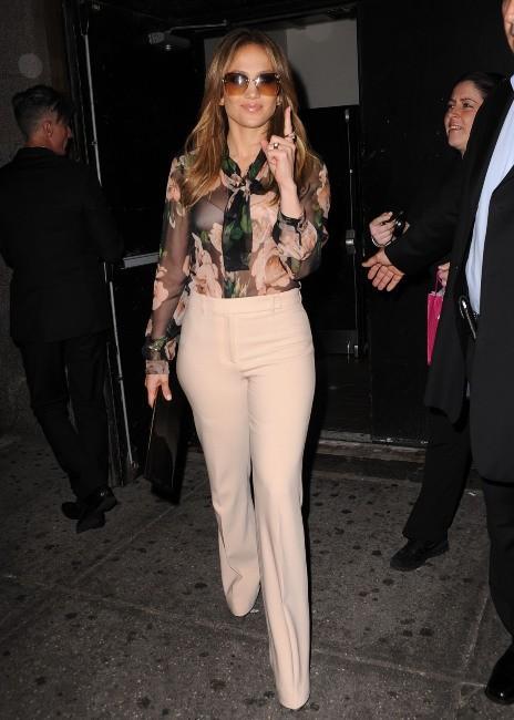 Jennifer Lopez le 15 mai 2013 à New York