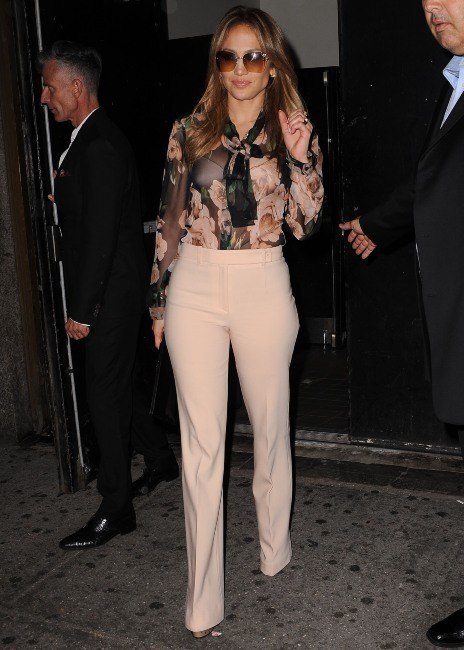Jennifer Lopez le 15 mai 2013 à New York