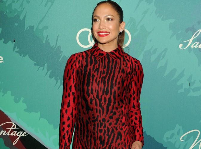 Jennifer Lopez : robe ras les fesses et talons hauts pour un �v�nement mondain en son honneur !