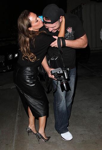 Leah Remini à Los Angeles le 25 septembre 2014
